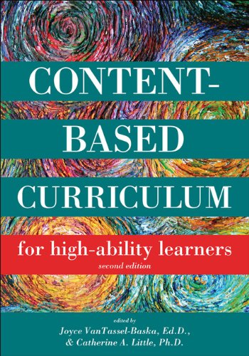 9781593633998: Content Based Curriculum for High Ability Learners