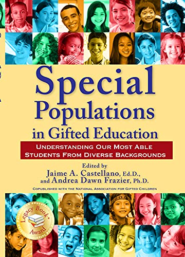 9781593634179: Special Populations in Gifted Education: Understanding Our Most Able Students from Diverse Backgrounds