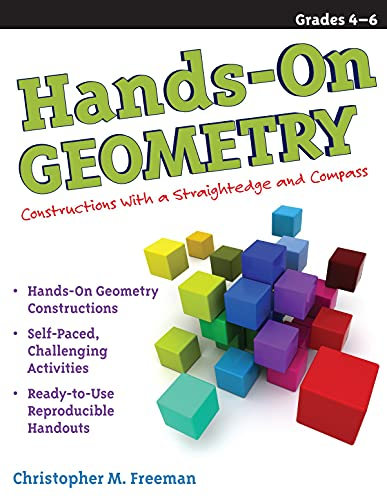 9781593634186: Hands-On Geometry: Constructions with Straightedge and Compass, Grades 4-6