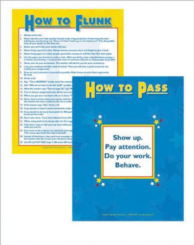 9781593636708: How to Flunk/How to Pass Poster Set