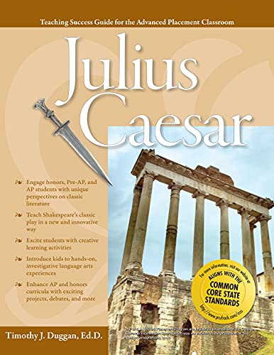9781593638344: JULIUS CAESAR (Teaching Success Guide for the Advanced Placement Classroom)