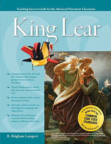 9781593638351: Advanced Placement Classroom: King Lear (Teaching Success Guides for the Advanced Placement Classroom)