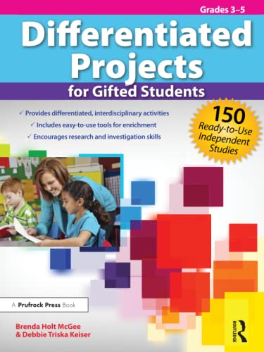 9781593639679: Differentiated Projects for Gifted Students: 150 Ready-to-Use Independent Studies