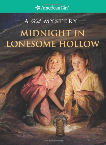9781593691608: Midnight in Lonesome Hollow: A Kit Mystery (American Girl Mysteries)