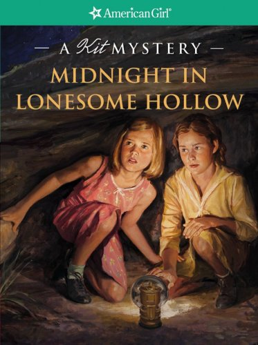 9781593691615: Midnight in Lonesome Hollow: A Kit Mystery (American Girl Mysteries)