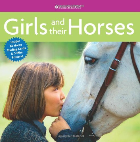 Girls and Their Horses [With 24 Horse