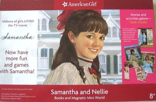9781593692292: Samantha and Nellie Books and Magnetic Mini World (Meet Samantha, Nellie's Promise, Samantha's Magnetic Mini World, Trading Cards, Samantha Bookmark) (American Girl)
