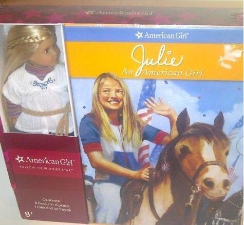 9781593693749: AMERICAN GIRL JULIE: 6-BOOK-SET PLUS JULIE'S MINI DOLL