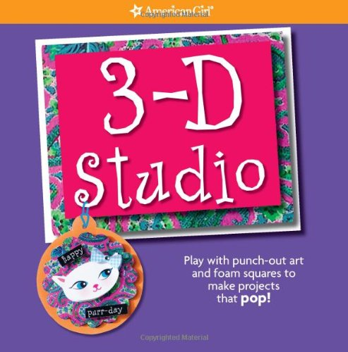 3-D Studio: Play with punch-out art and