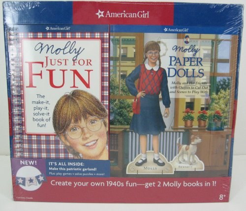 9781593696979: American Girl Molly Just for Fun Paper Dolls Book Set