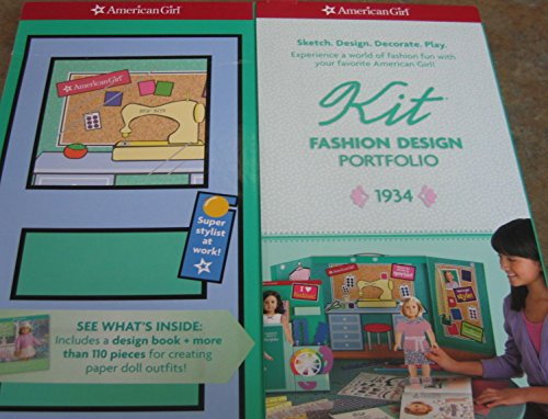 9781593697228: American Girl Kit Fashion Design Portfolio