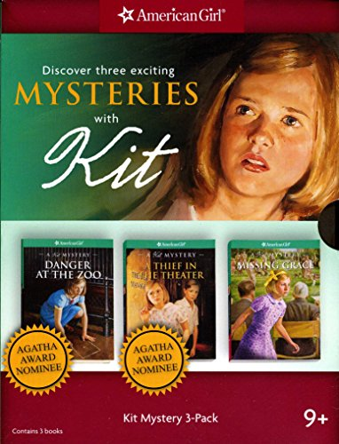 American Girl, Discover Three Exciting Mysteries with Kit: Kathleen Ernst