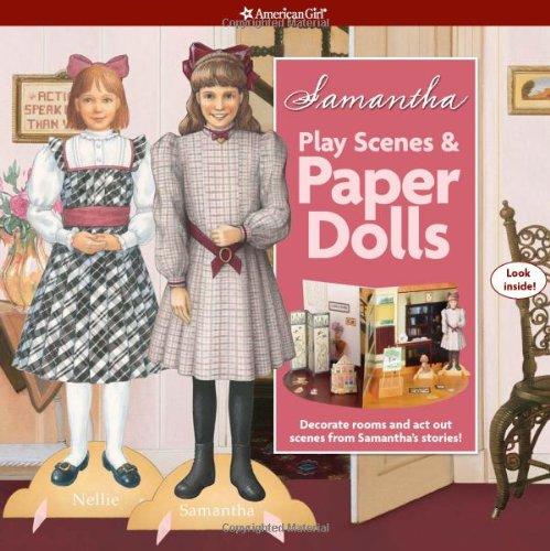 9781593697617: Samantha Play Scenes & Paper Dolls (American Girl)
