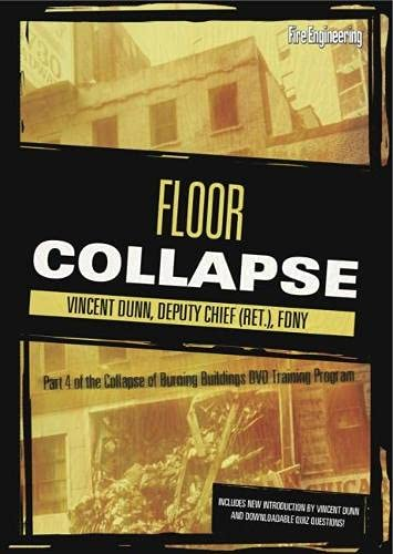 Floor Collapse Dvd: Part Of The Collapse Of Burning Buildings Video Training Program (Collapse of ...