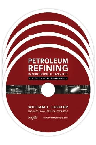 9781593702281: Petroleum Refining in Nontechnical Language Video Series