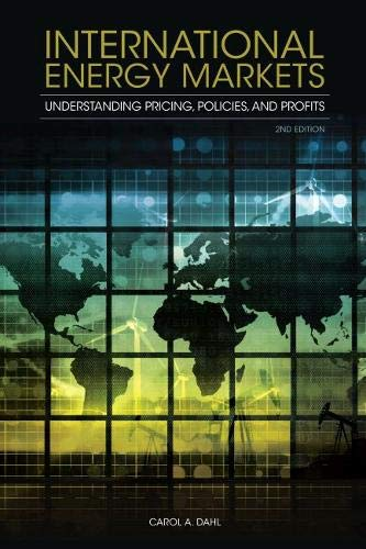 9781593702915: International Energy Markets: Understanding Pricing, Policies, and Profits