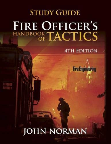 9781593703172: Fire Officer's Handbook of Tactics, Study Guide (Fire Engineering)