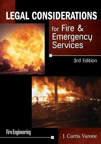 9781593703479: Legal Considerations for Fire & Emergency Services