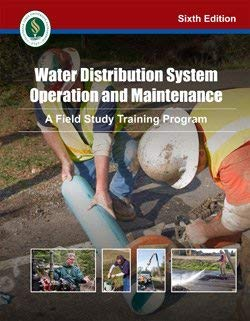 9781593710613: Water Distribution System Operation and Maintenance: A Field Study Training Program