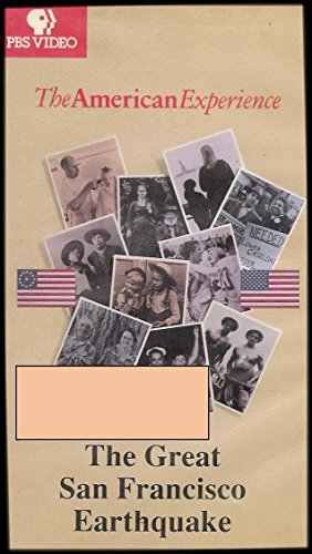 9781593754709: The American Experience: The Great San Francisco Earthquake [VHS]