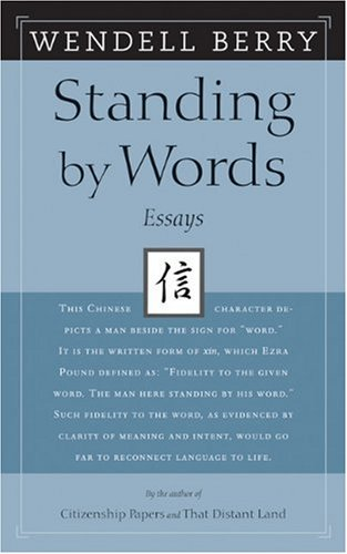 9781593760557: Standing by Words: Essays