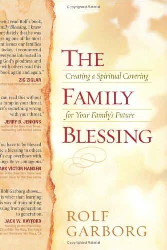 9781593790042: The Family Blessing: Creating a Spiritual Covering for Your Family's Future