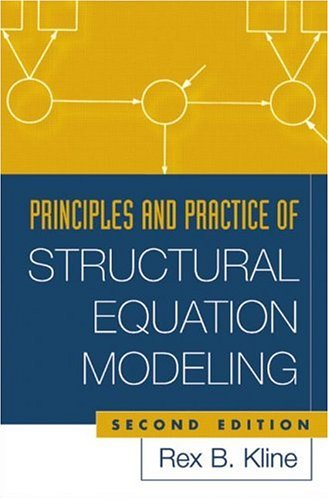 9781593850753: Principles and Practice of Structural Equation Modeling, Second Edition (Methodology in the Social Sciences)
