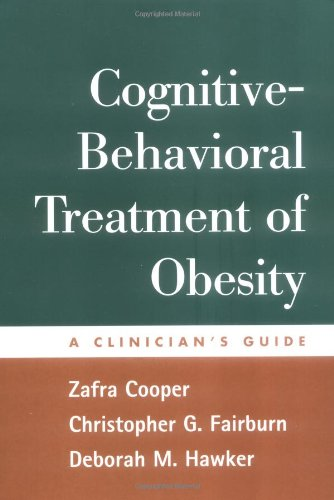 9781593850920: Cognitive-Behavioral Treatment of Obesity: A Clinician's Guide