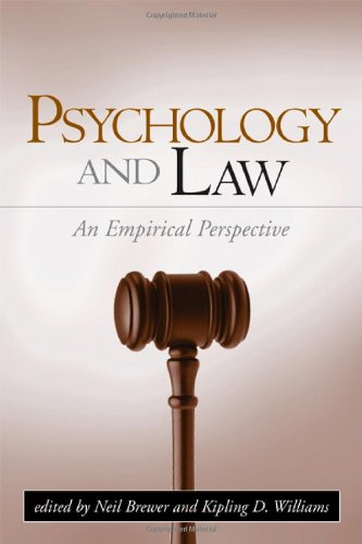 9781593851224: Psychology and Law: An Empirical Perspective