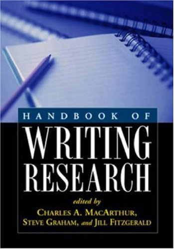 9781593851903: Handbook of Writing Research