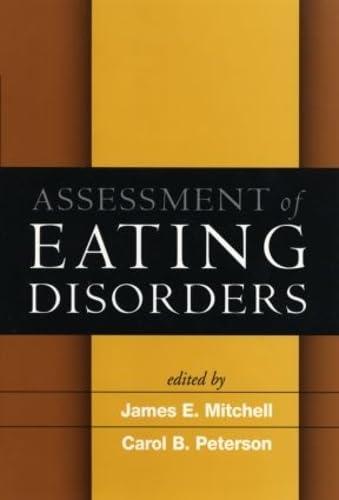9781593851965: Assessment of Eating Disorders