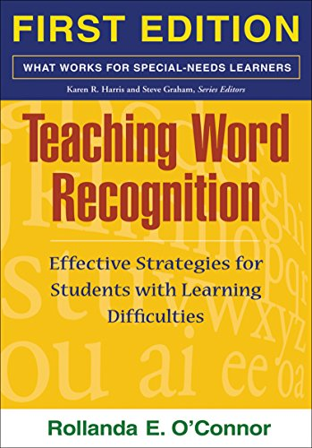 9781593853655: Teaching Word Recognition: Effective Strategies for Students with Learning Difficulties (What Works for Special-Needs Learners)