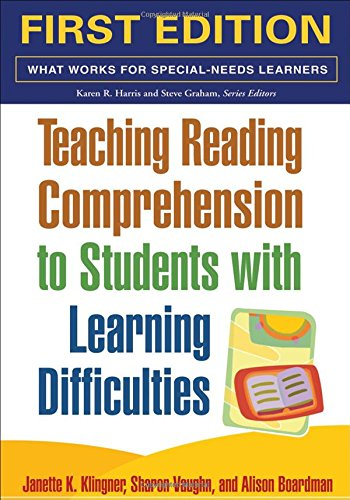 Teaching Reading Comprehension to Students with Learning: Klingner PhD, Janette