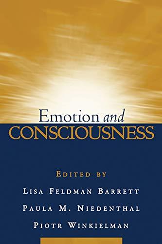 9781593854584: Emotion and Consciousness