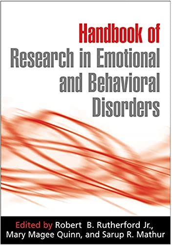 9781593854713: Handbook of Research in Emotional and Behavioral Disorders