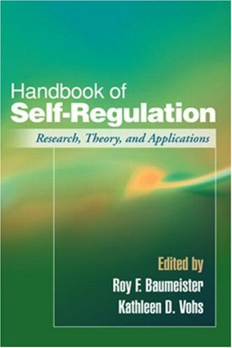 9781593854751: Handbook of Self-Regulation: Research, Theory, and Applications
