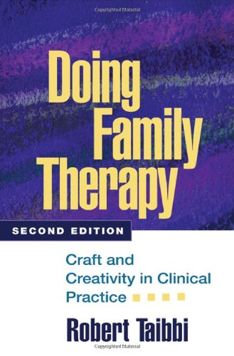 Doing Familt Therapy Craft And Creativity In Clinical Practice