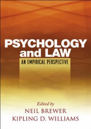 9781593855901: Psychology and Law: An Empirical Perspective