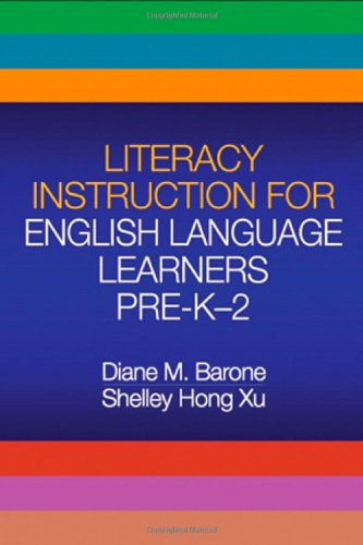 9781593856038: Literacy Instruction for English Language Learners Pre-K-2 (Solving Problems in the Teaching of Literacy)