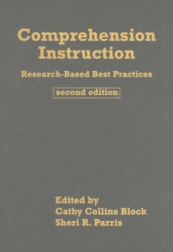 9781593857011: Comprehension Instruction, Second Edition: Research-Based Best Practices (Solving Problems in the Teaching of Literacy)