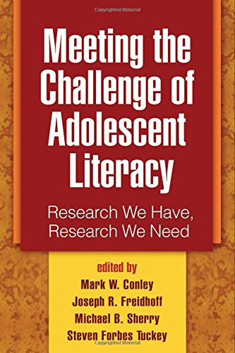 9781593857035: Meeting the Challenge of Adolescent Literacy: Research We Have, Research We Need