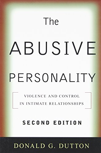 9781593857172: The Abusive Personality, Second Edition: Violence and Control in Intimate Relationships