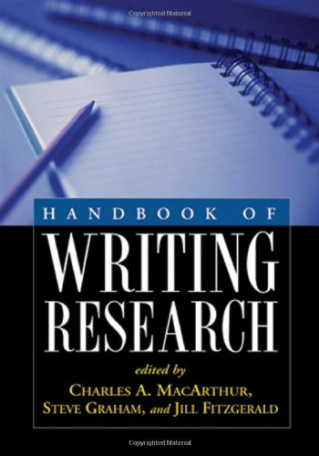9781593857509: Handbook of Writing Research, First Edition