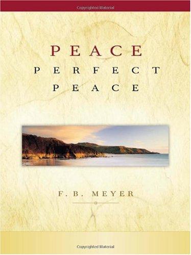 9781593870645: Peace, Perfect Peace