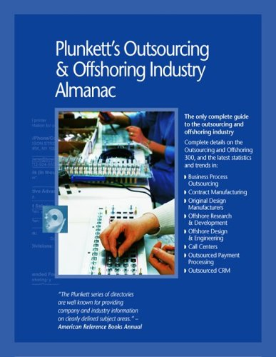 9781593920203: Plunkett's Outsourcing & Offshoring Industry Almanac