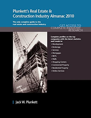 Plunketts Real Estate And Construction Industry Almanac 2010 Real Estate Construction Industry ...