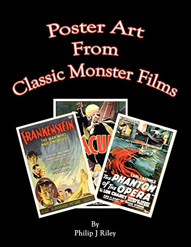 9781593934866: Poster Art from the Classic Monster Films