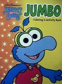 Muppet Babies Jumbo Coloring & Activity Book (9781593940072) by [???]