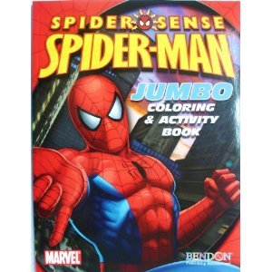 Spider-Man Jumbo Coloring & Activity: unknown