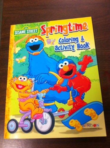 9781593940928: Sesame Street Springtime Coloring & Activity Book